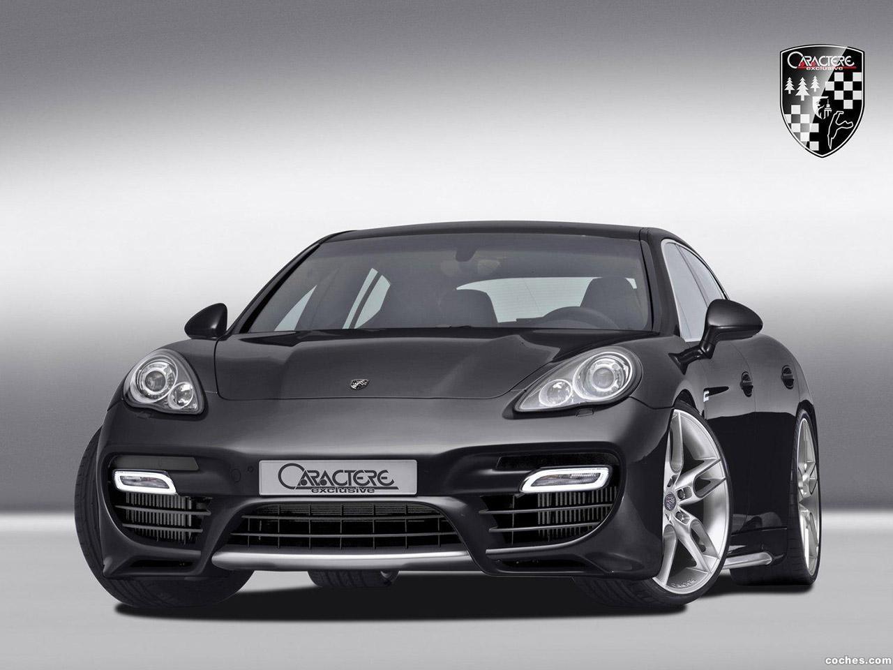 Fotos De Porsche Caractere Panamera 2010