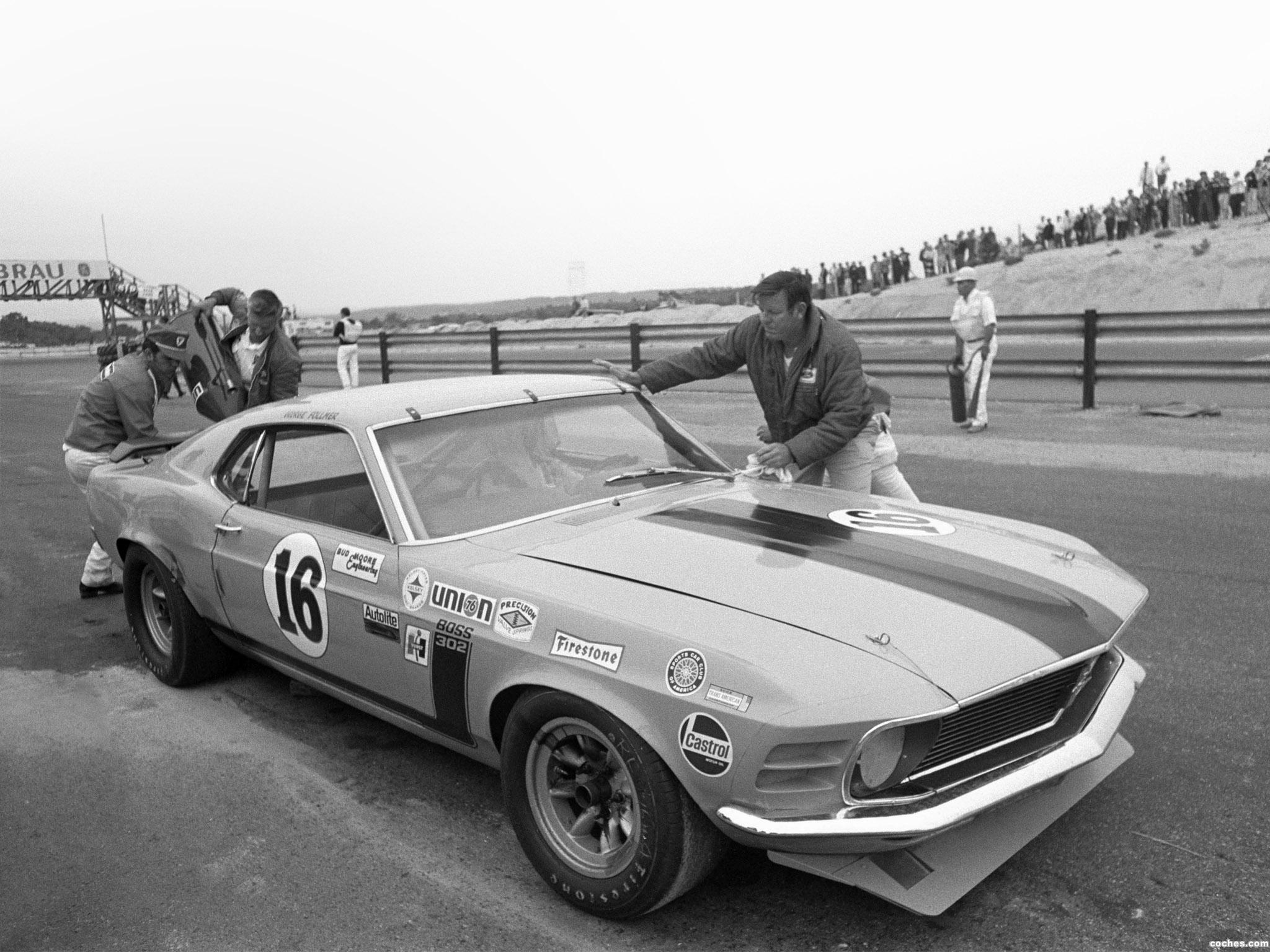 Fotos De Ford Mustang Boss 302 Trans Am Race Car 1970 Foto 4