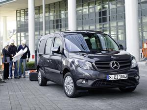 Mercedes Citan Crewbus 2012