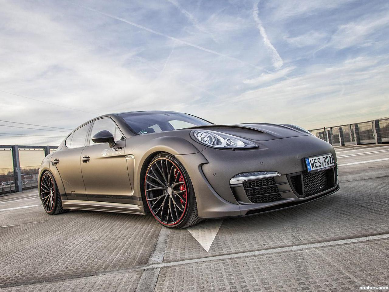 Fotos De Porsche Prior Design Panamera Wide Body Kit 2014