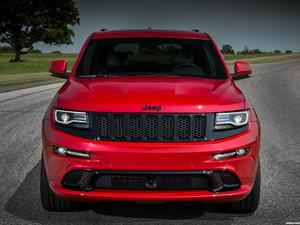 Jeep SRT Grand Cherokee Red Vapor WK2 2014