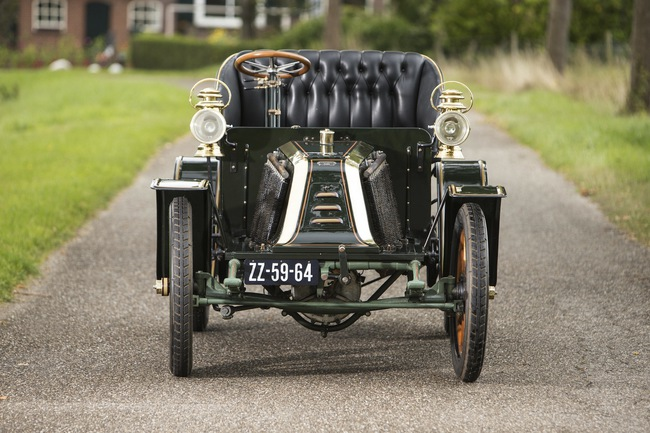 1902 Renault 8hp Type G Two-Seater 08
