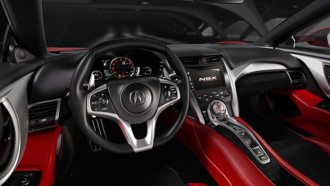 Acura NSX 2016 interior 01