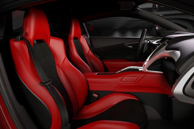 Acura NSX 2016 interior 02