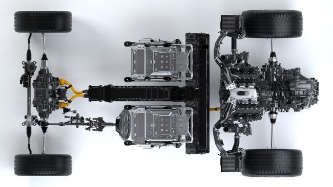 Acura NSX 2016 tecnica 01
