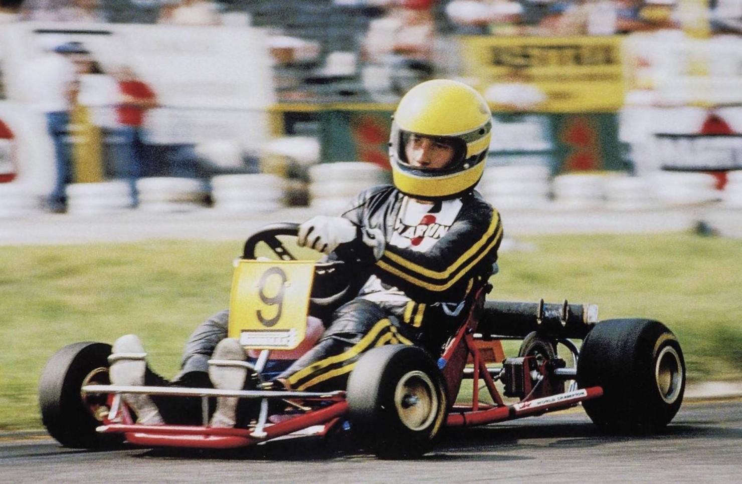 Ayrton Senna Kart 2