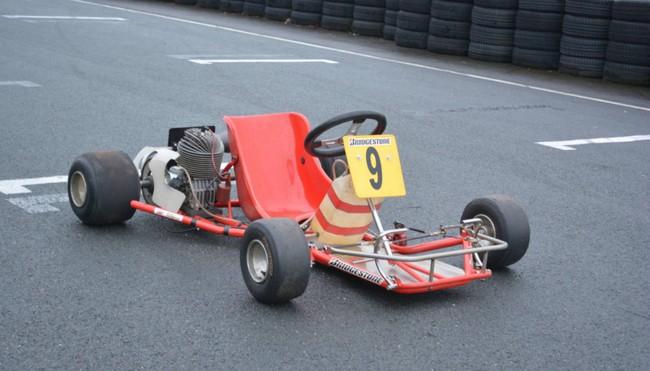Ayrton Senna Kart 6