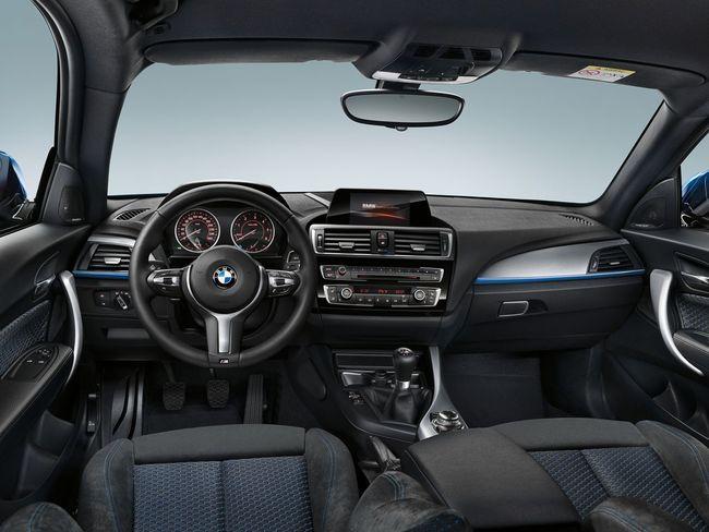 BMW Serie 1 2015 interior - 11