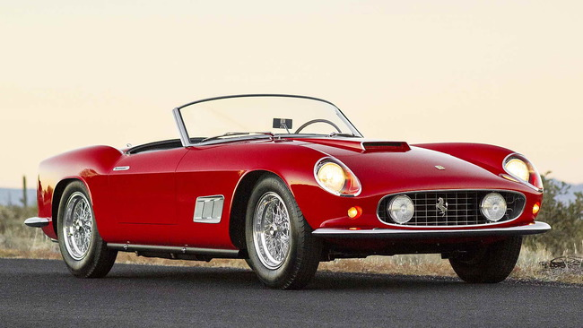 Ferrari 250 GT LWB California Spider by Scaglietti (1958) 01