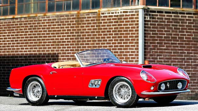 Ferrari 250 GT SWB California Spider by Scaglietti (1961) 01