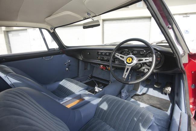 Ferrari 275 Berlinetta Competizione Gran Turismo Scaglietti 1966 interior 04