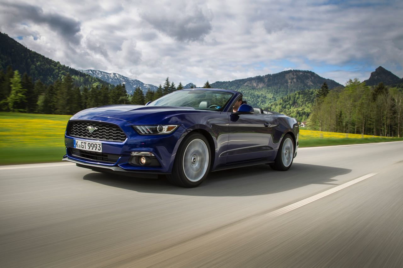 Ford Mustang Convertible 2015 – 1