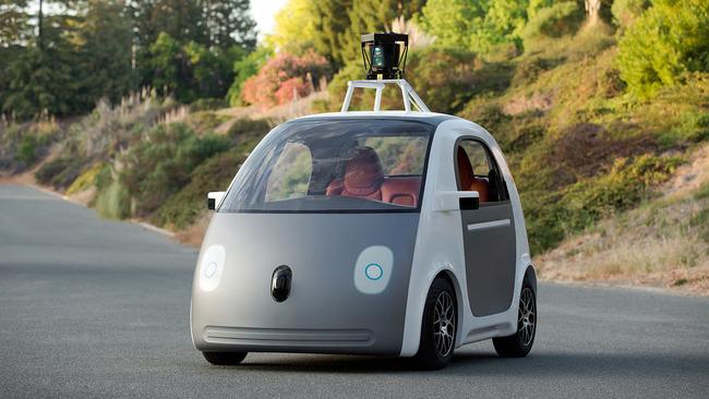 El prototipo original de coche autónomo de Google