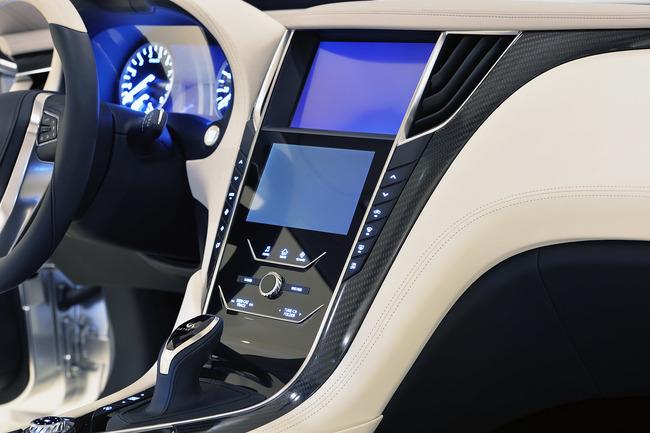 Infiniti Q60 Concept 2015 interior 05