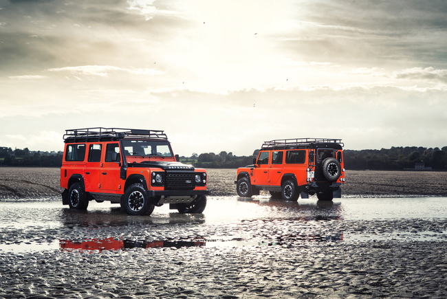 Land Rover Defender Heritage Adventure y Autobiopgraphy 2015 01