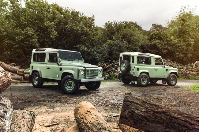 Land Rover Defender Heritage Adventure y Autobiopgraphy 2015 06