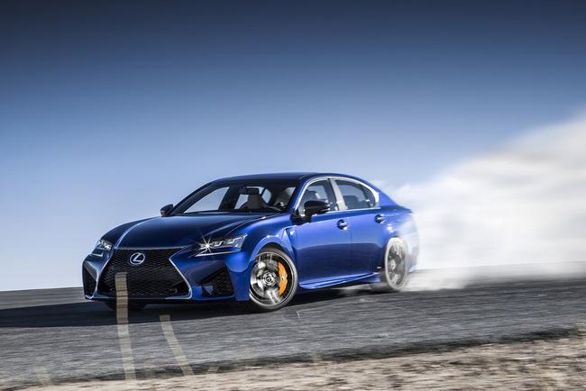 Lexus GS F 2016 28