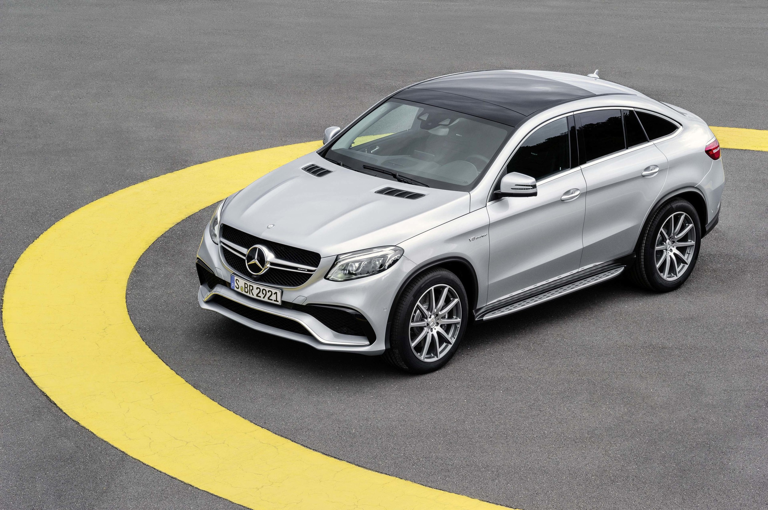 Mercedes AMG GLE 63 Coupe 2016 02