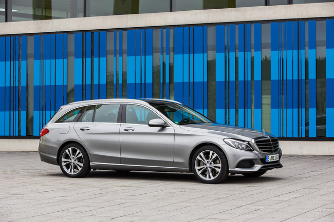 Mercedes-Benz C 350 PLUG IN HYBRID (W 205) 2015 Estate 01