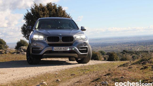 Prueba BMW X6 2015 7