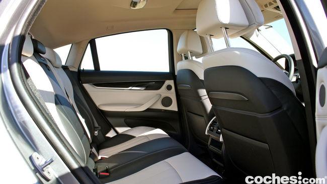 Prueba BMW X6 2015 interior 1