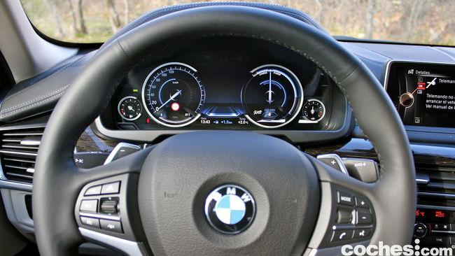 Prueba BMW X6 2015 interior 10