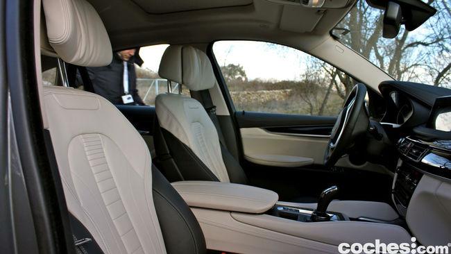 Prueba BMW X6 2015 interior 17