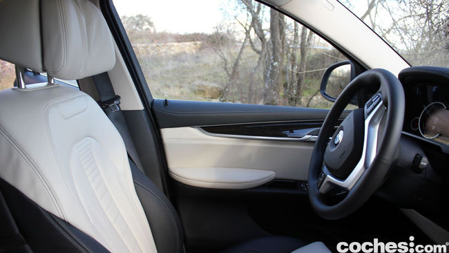 Prueba BMW X6 2015 interior 18