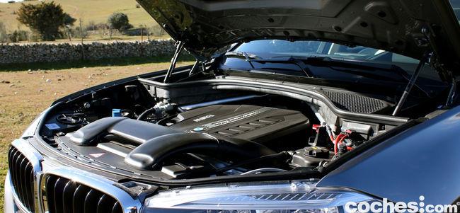 Prueba BMW X6 2015 motor 1