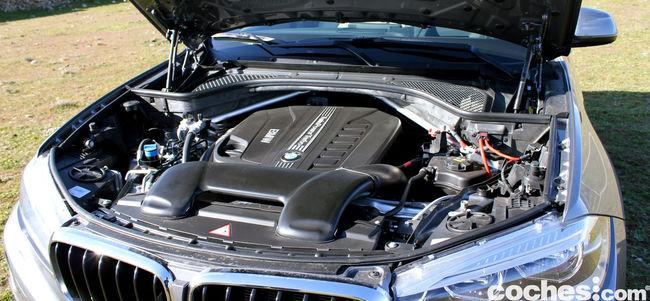 Prueba BMW X6 2015 motor 2
