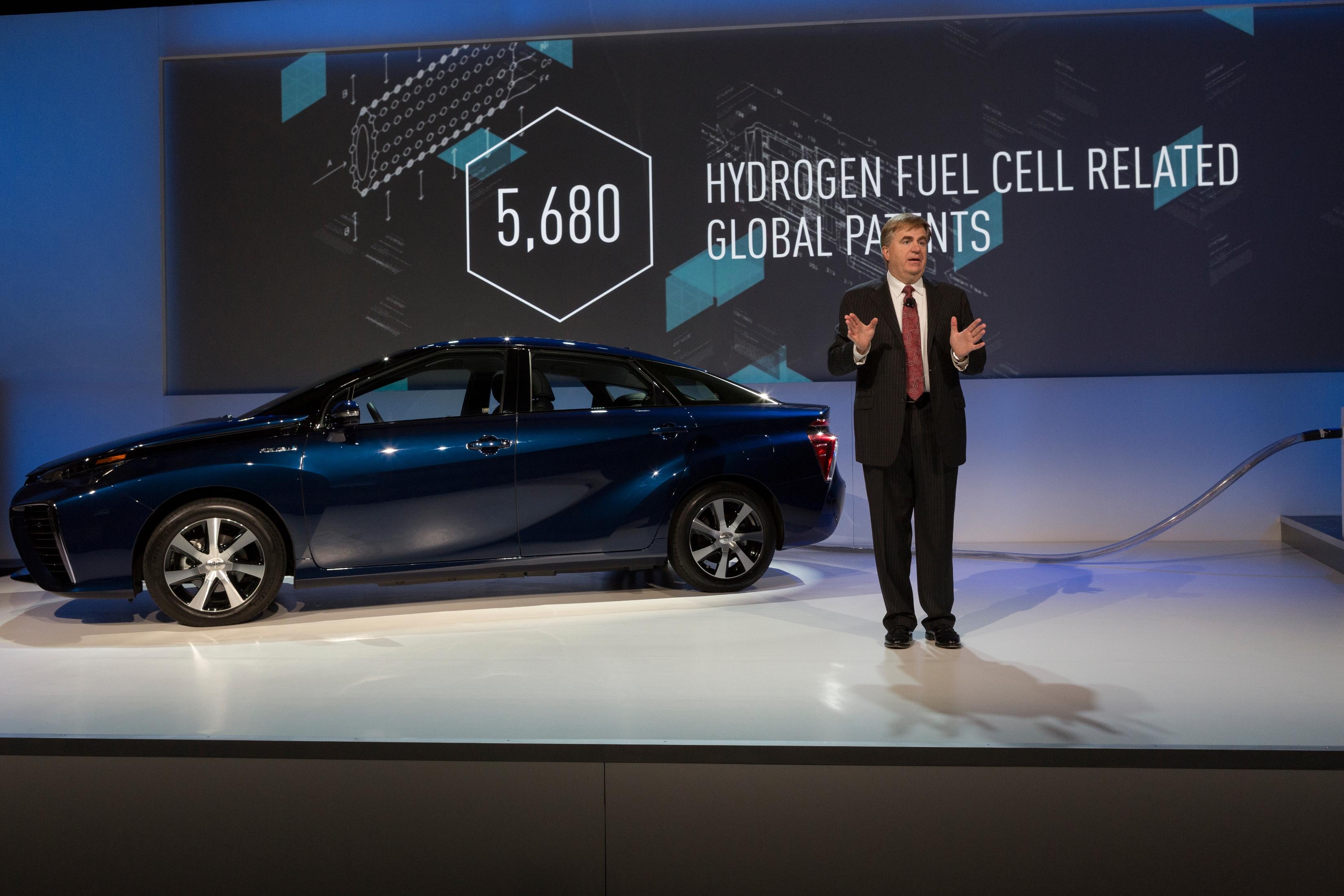 Toyota libera 5.680 patentes