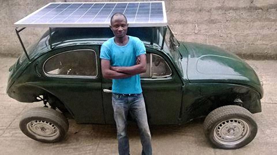 Volkswagen Beetle solar nigeriano 1