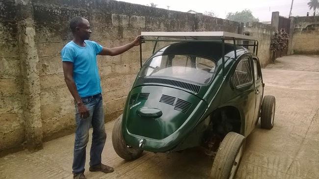 Volkswagen Beetle solar nigeriano 4