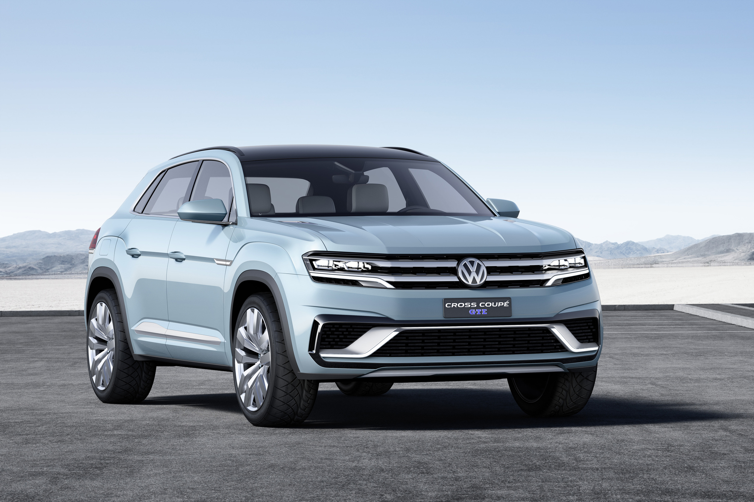 Volkswagen Cross Coupe GTE Concept 2015 03