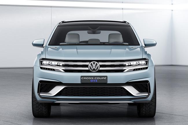 Volkswagen Cross Coupe GTE Concept 2015 11