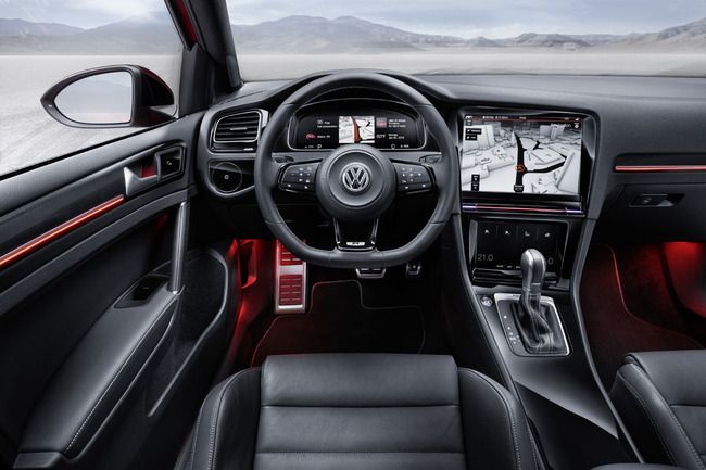Vollswagen Golf R Touch Concept 2015 12