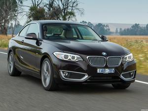 BMW Serie 2 220d Coupe Modern Line F22 Australia 2014