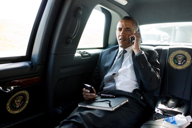 Presidente Obama Limusina Cadillac One