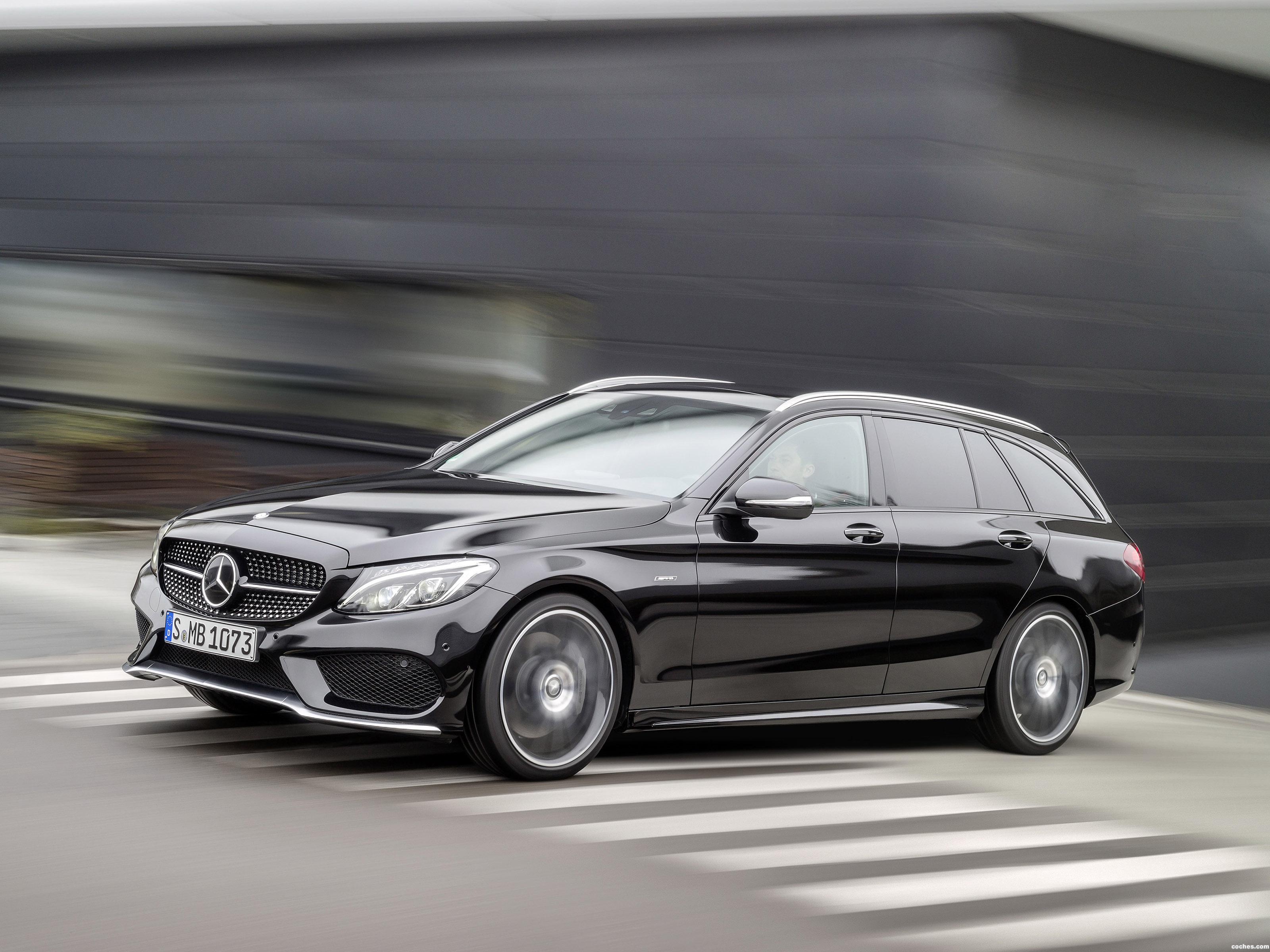 fotos de mercedes clase c c450 amg sport estate s205 2015. Black Bedroom Furniture Sets. Home Design Ideas