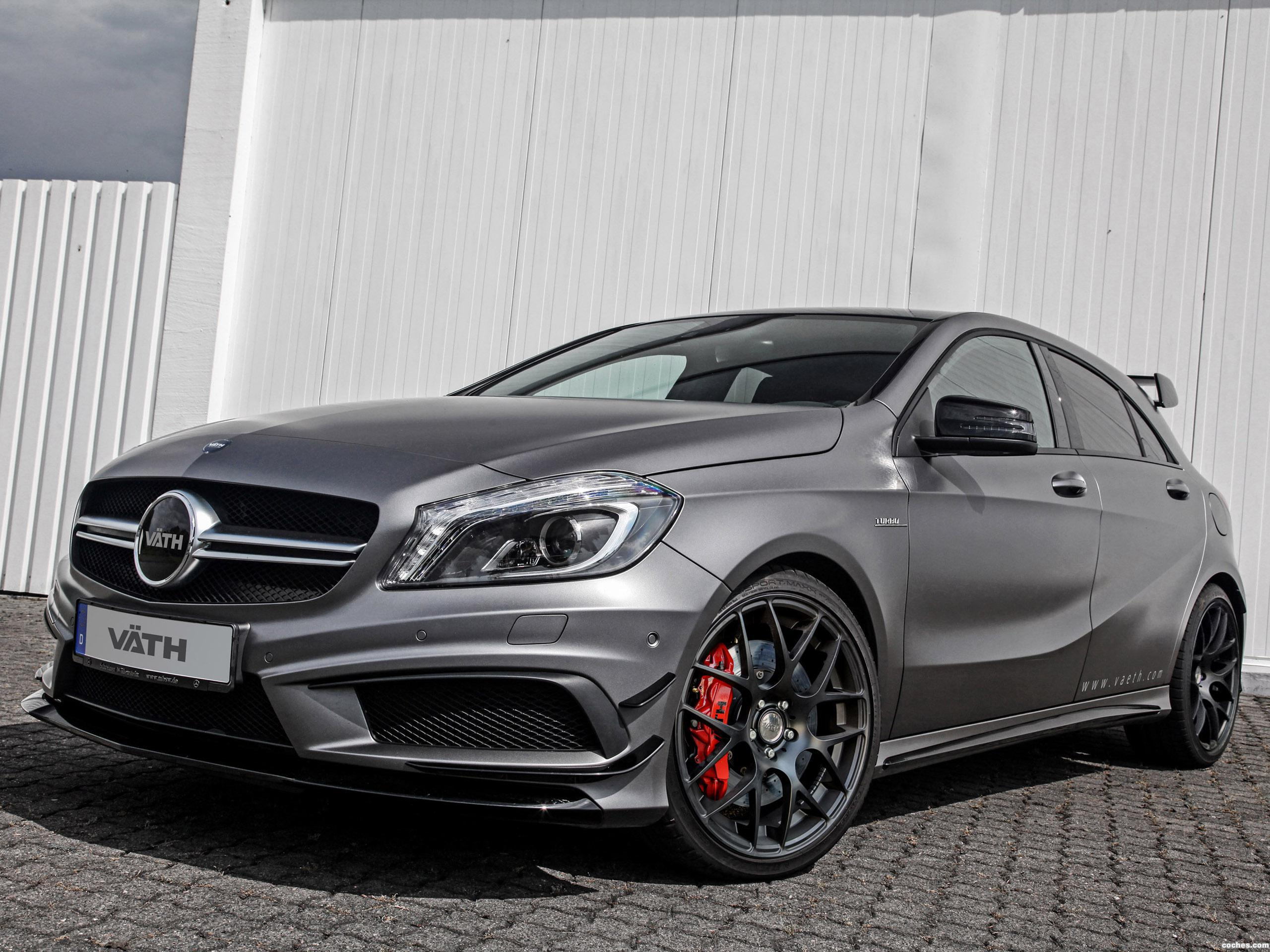 fotos de mercedes vath amg clase a a45 2014. Black Bedroom Furniture Sets. Home Design Ideas