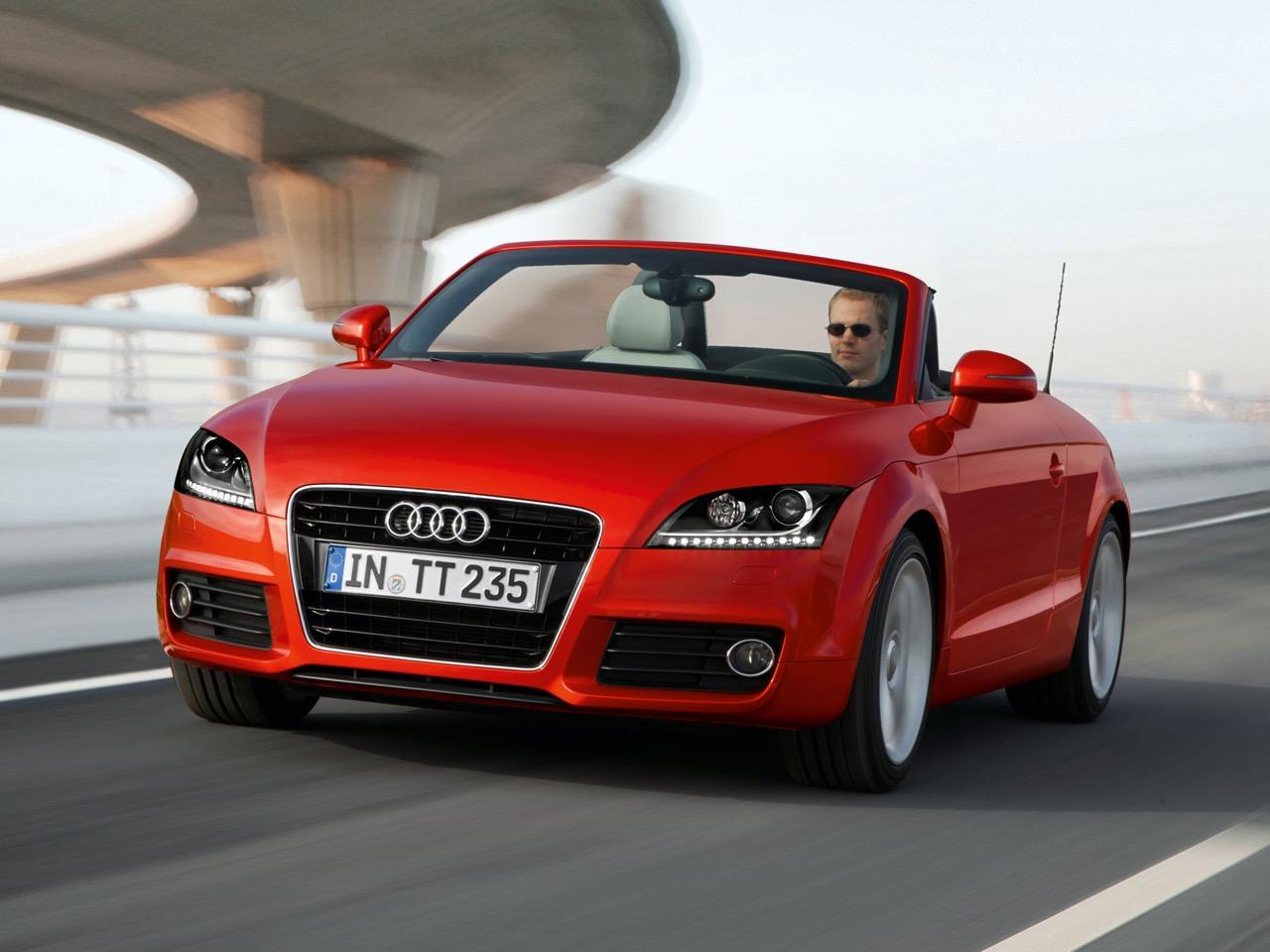 Audi TT Roadster /Fahraufnahme