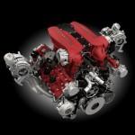 Ferrari 488 GTB 2015 motor