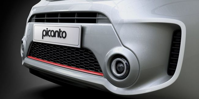 Kia Picanto 2015 detalle frontal
