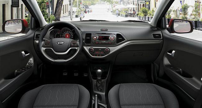 Kia Picanto 2015 interior 01
