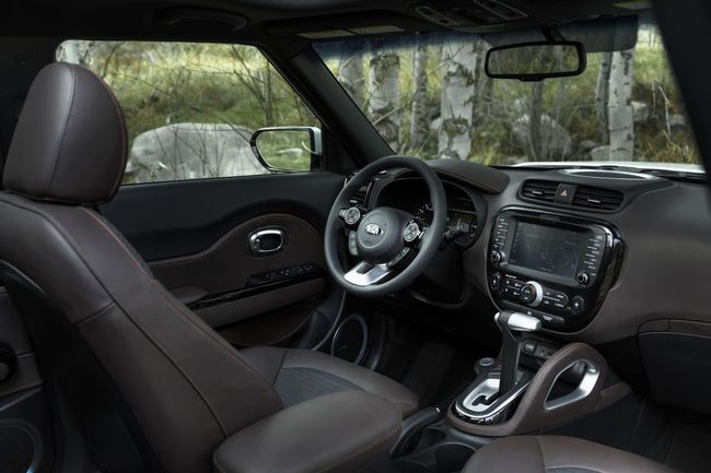 Kia Trail´ster Concept 2015 interior 01