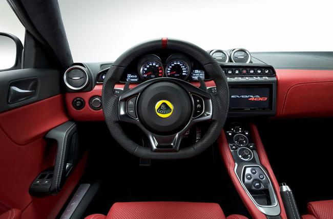 Lotus Evora 400 2015 interior 01