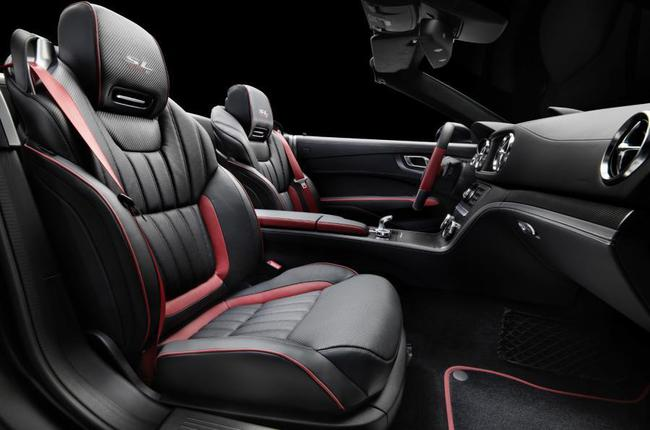 Mercedes-Benz SL 417 Mille Miglia 2015 interior 01