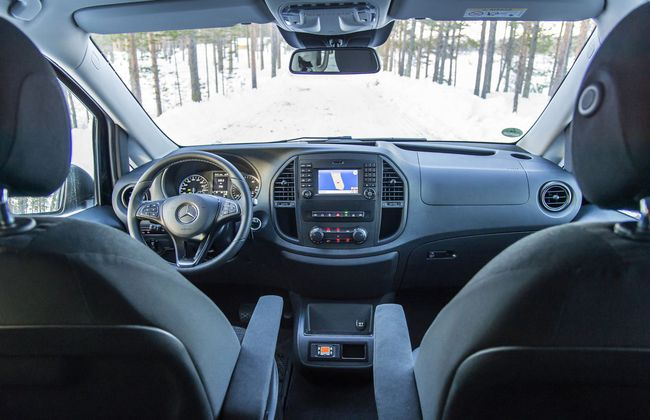 Mercedes Vito 4Matic 2015 interior