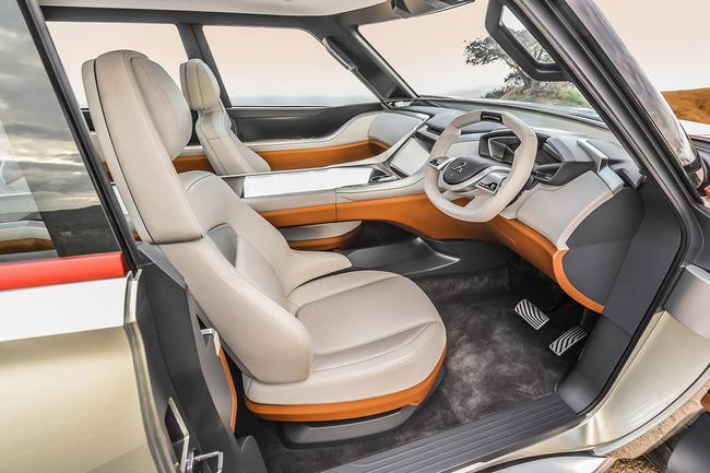 Mitsubishi Concept GC PHEV 2015 interior 01