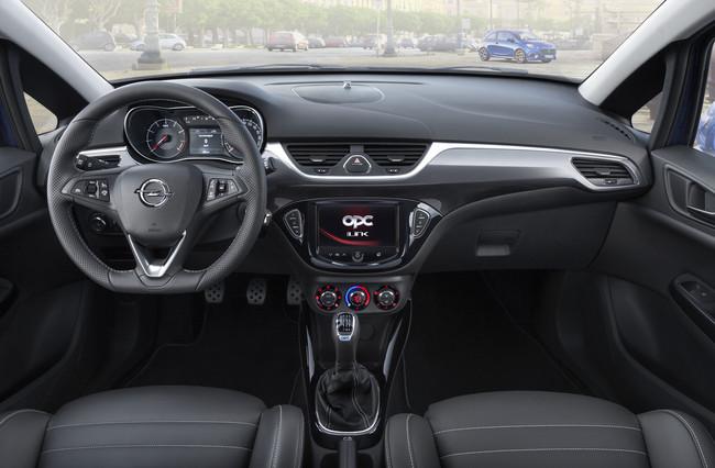 Opel Corsa OPC 2015 interior 01